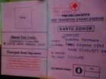 kartu donor PMI